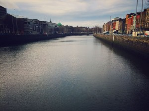 Walking around Dublin